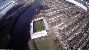 Craven Cottage Drone